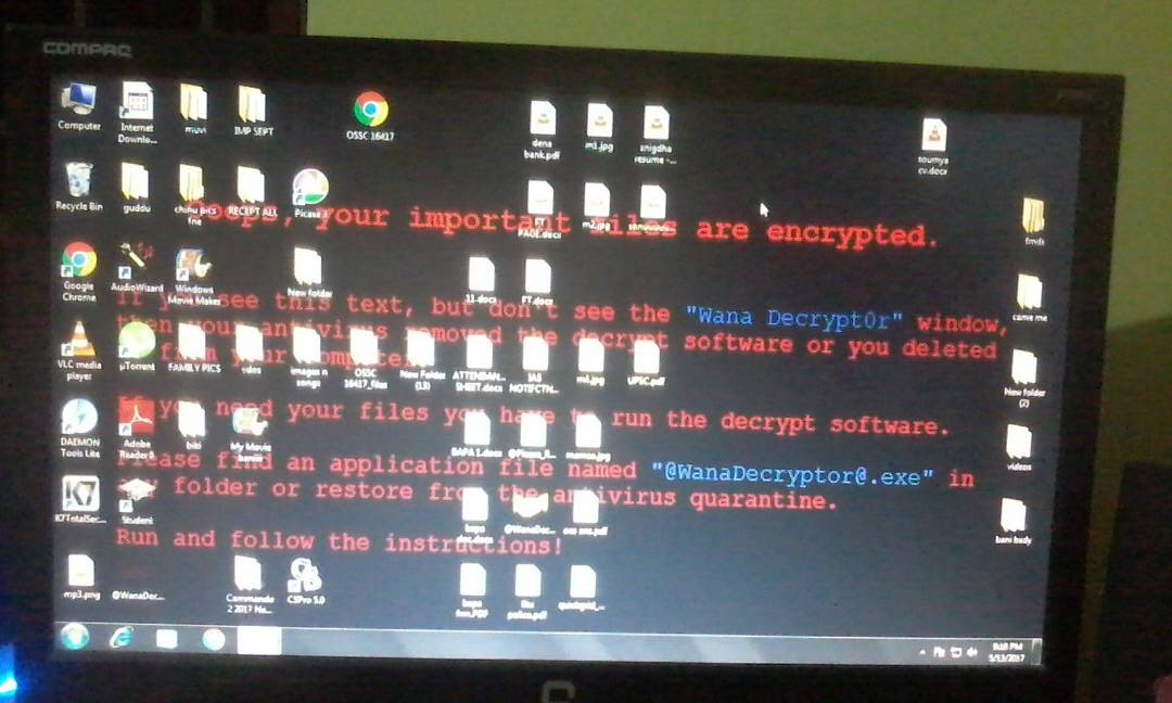 WannaCry makes first hit in Berhampur hospital