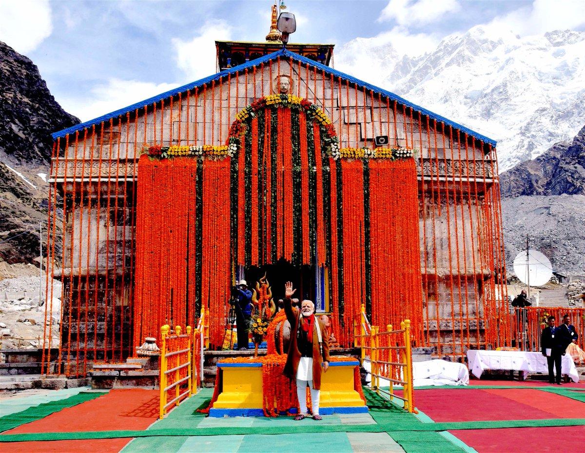 Modi-kedarnath-temple