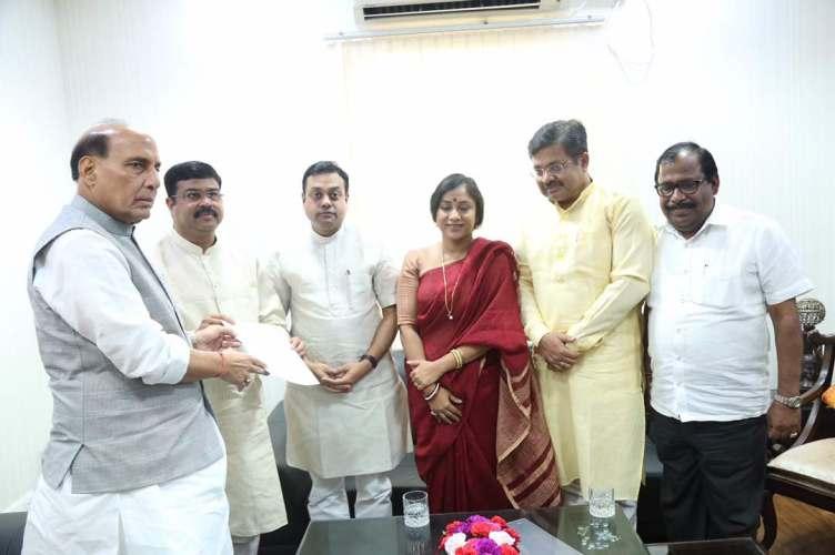 Odisha BJP-Rajnath