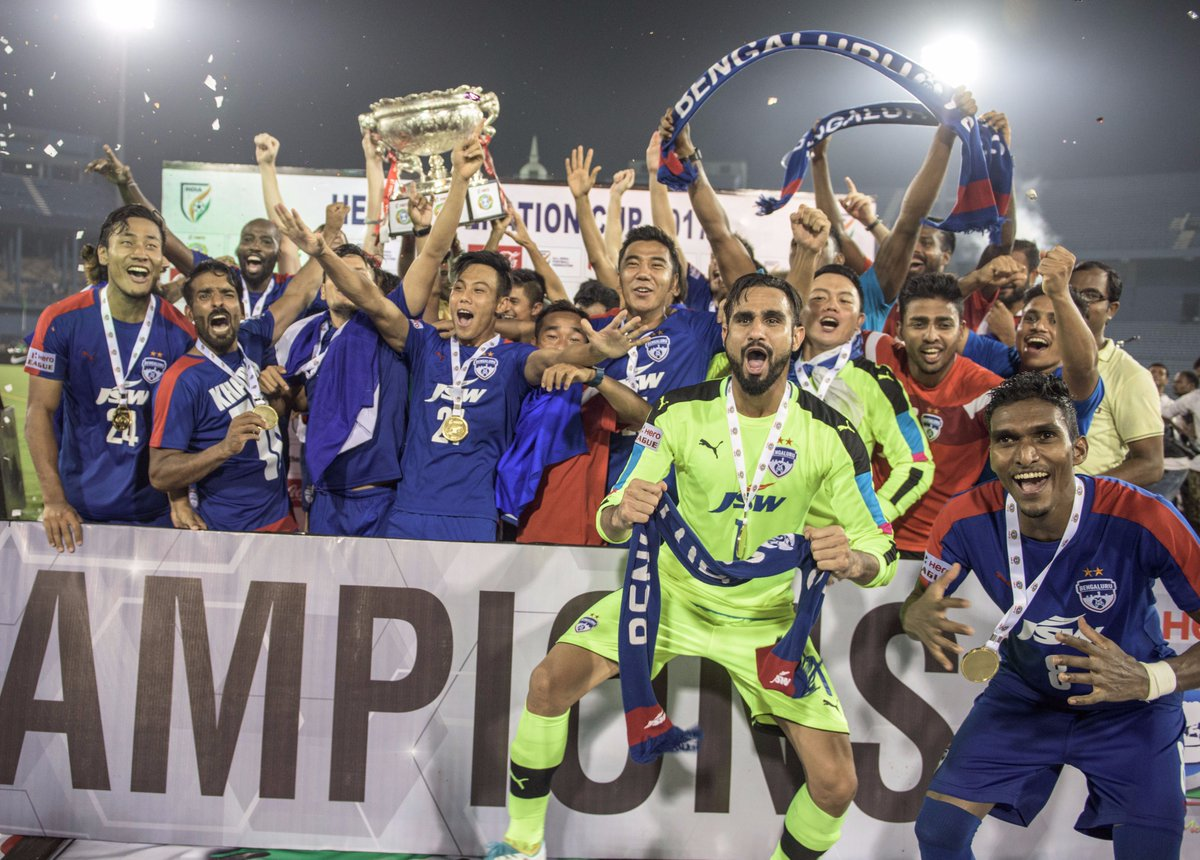 Bengaluru FC beat Mohun Bagan 2-0 to clinch Federation Cup trophy