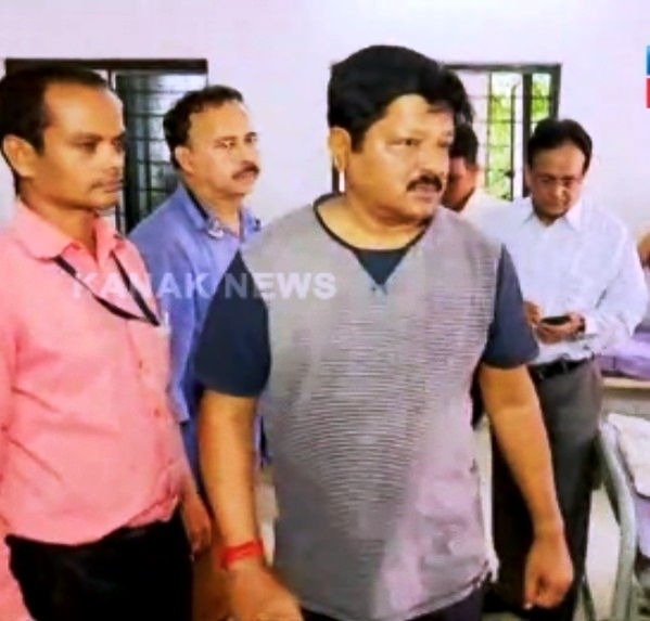 health minister visit to capital hospital