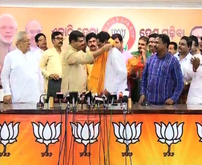jayram pangi joins BJP