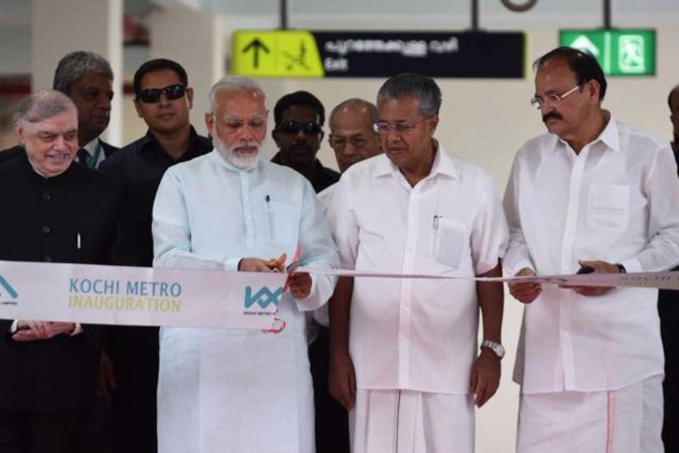 Sreedharan to attend Kochi Metro launch
