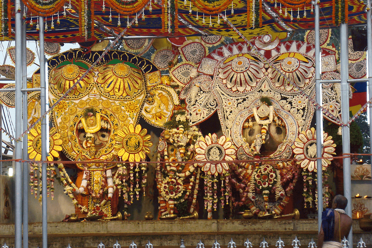 hati besha of lords at jagannath temple in puri