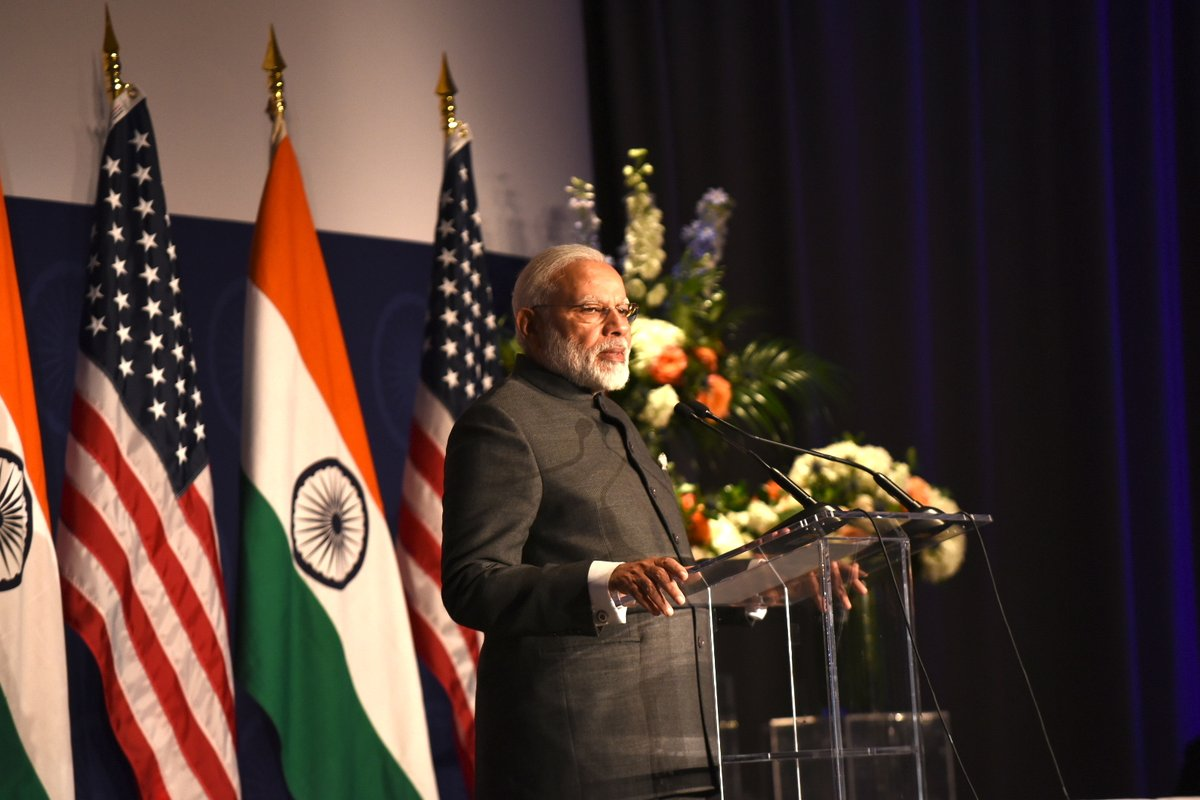 PM Modi and I are world leaders in social media, says Trump