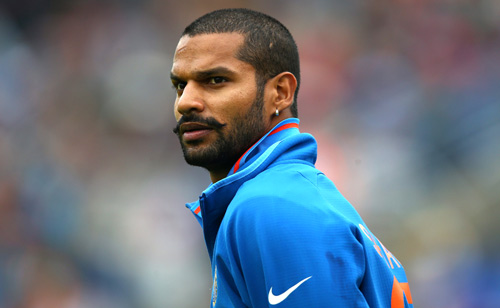 Shikhar Dhawan to replace injured Murali Vijay for Sri Lanka tour