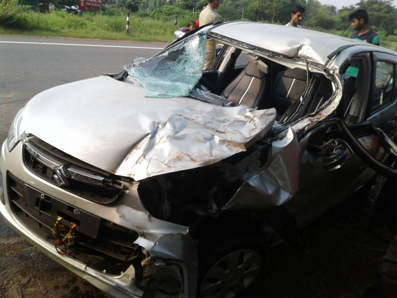 car meet accident