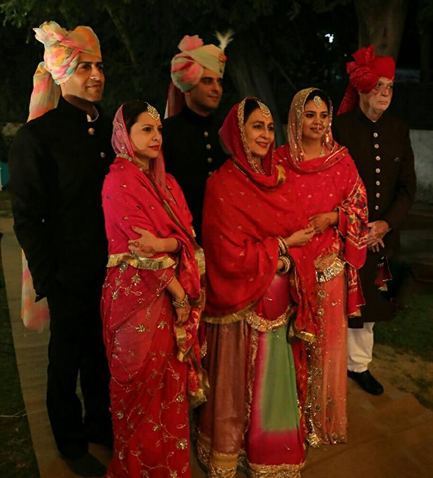 Kalikesh Narayan Singh Deo wife
