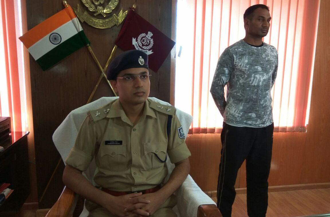 BSF jawan arrested