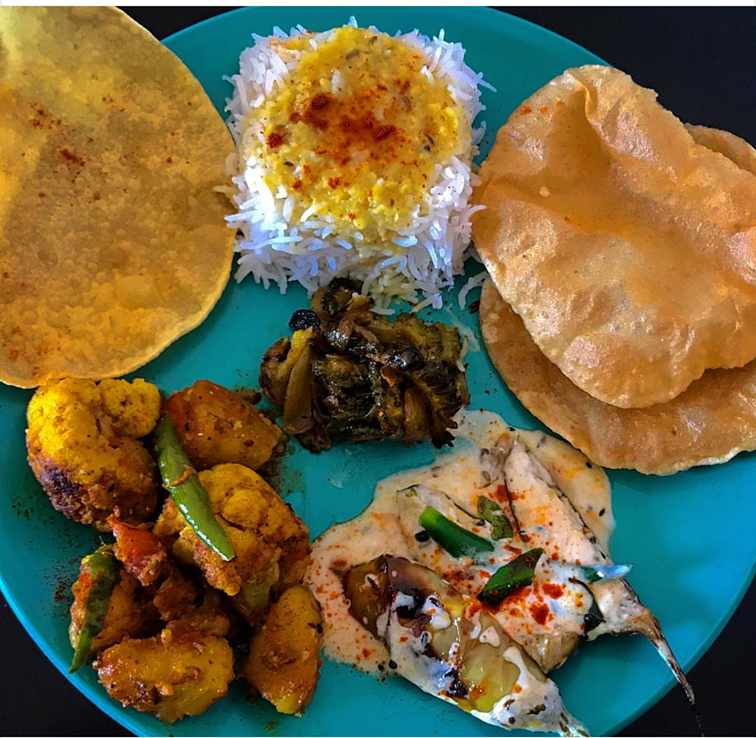 Kartika Prunima lunch spread
