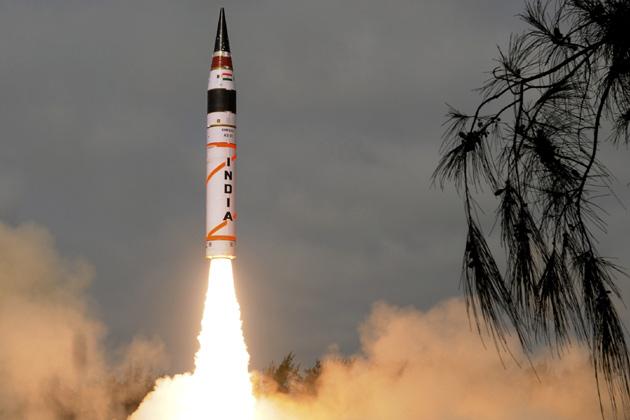 Agni-I-missile