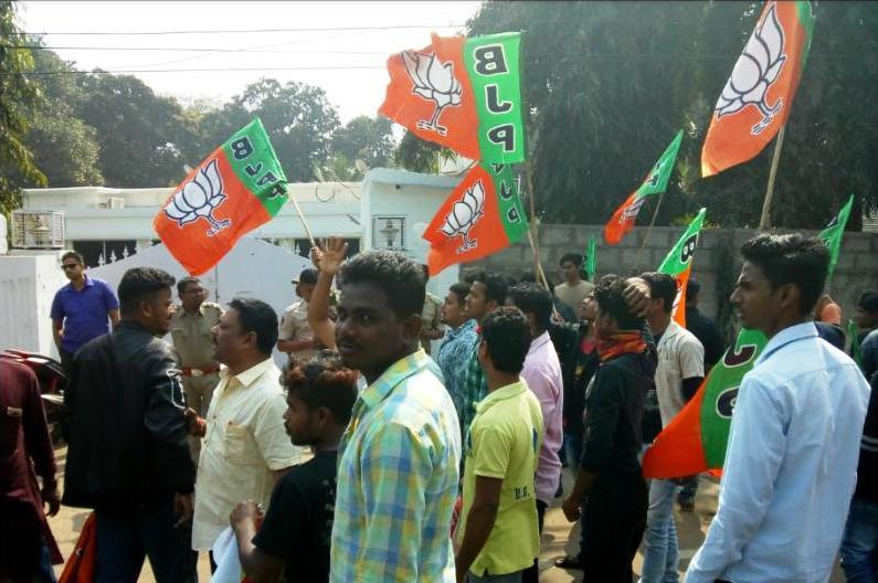 BJP demands dismissal of 4 officials including Pandian