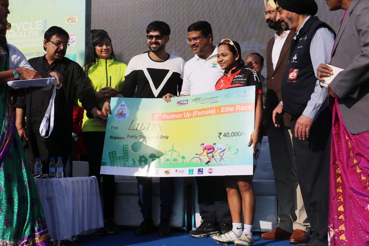 Cyclothon winner