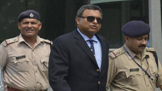 Karti chidambaram arrest
