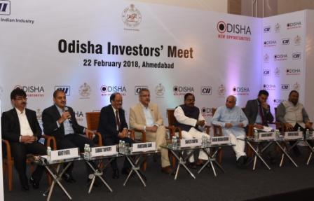 Odisha's Investor Meet – Ahmedabad