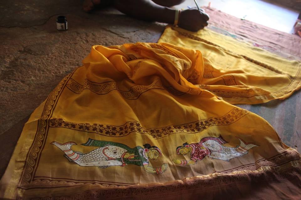 Pattachitra + rema Kumar