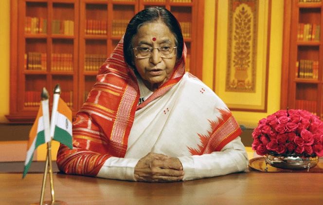Pratibha-Patil-wearing-sambalpuri-saree