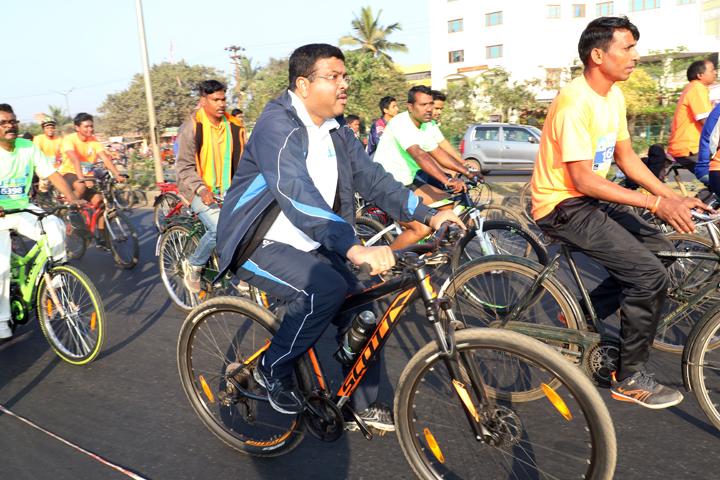 Saksham Cyclothon held in Bhubaneswar today (7)