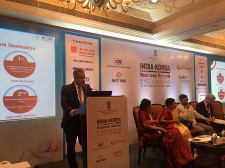 Sanjeev Chopra, PS Industries, Govt of Odisha pitching Paradip PCPIR for Korean investments
