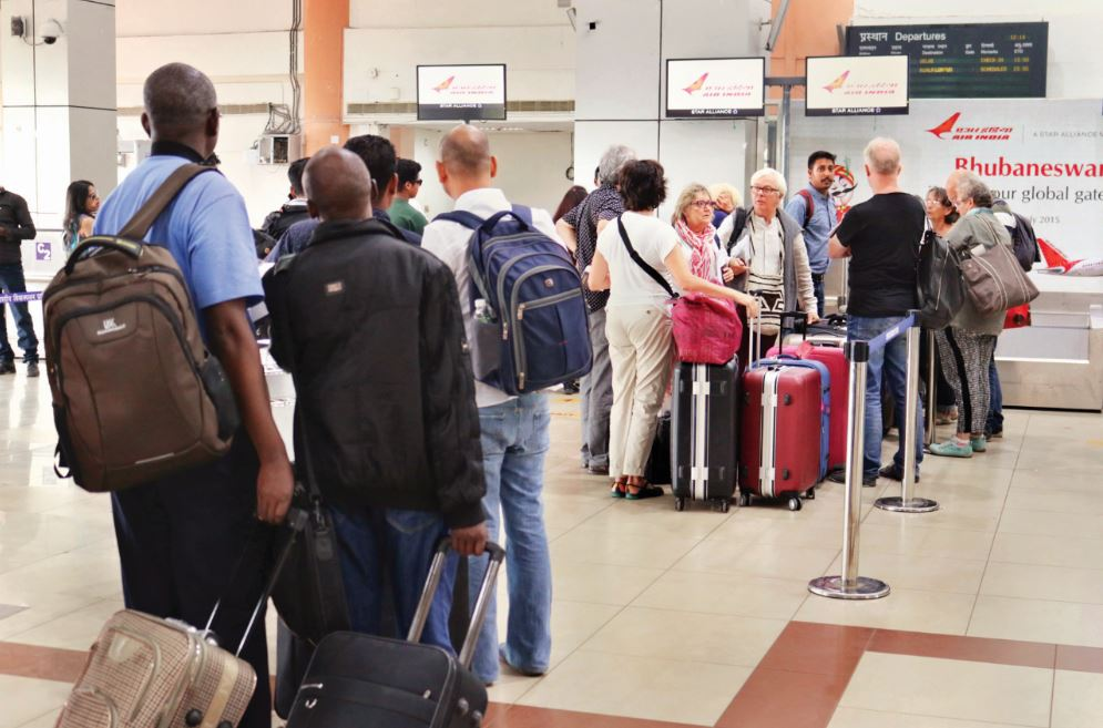 foreign-tourists-bhubaneswar-airport
