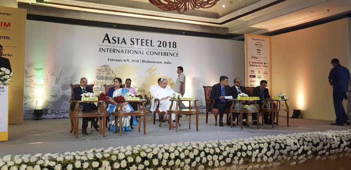 naveen steel conference