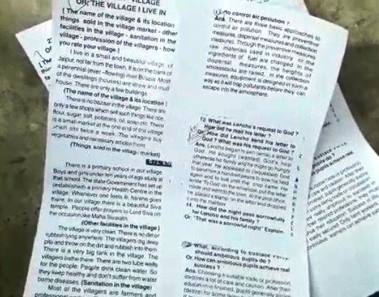 odisha matric exam question leak