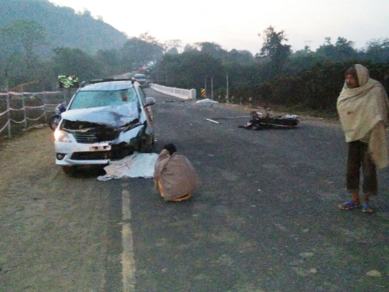 road accident 555
