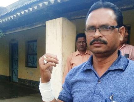 teacher injured