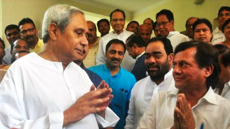 achyuta samanta joins BJD