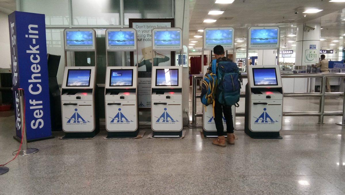 Good News For Flyers Bhubaneswar Airport Gets Self Check In Kiosks