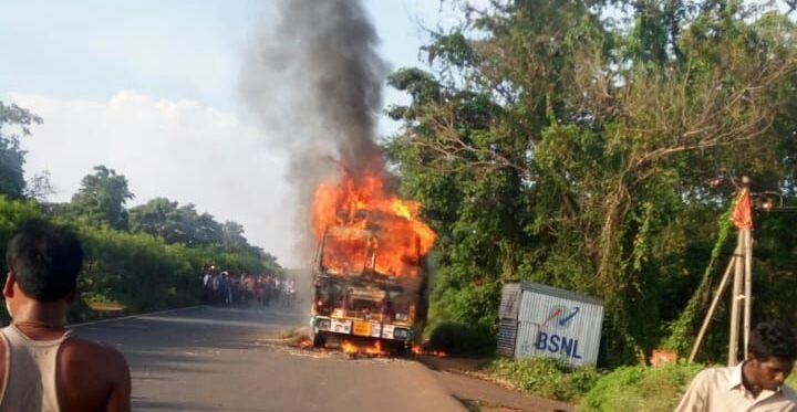 bhadrak truck accident