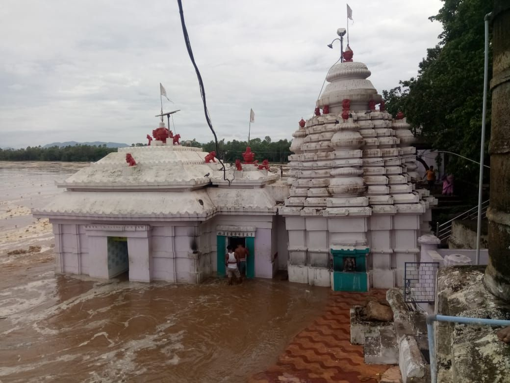 bhattarika temple flood
