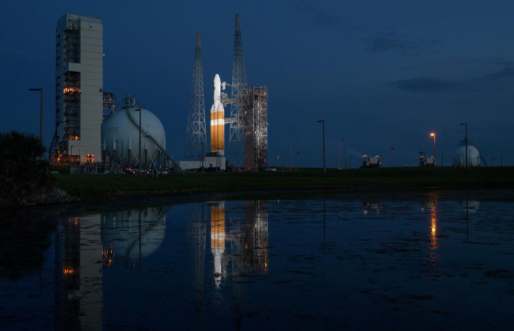 NASA solar probe launch