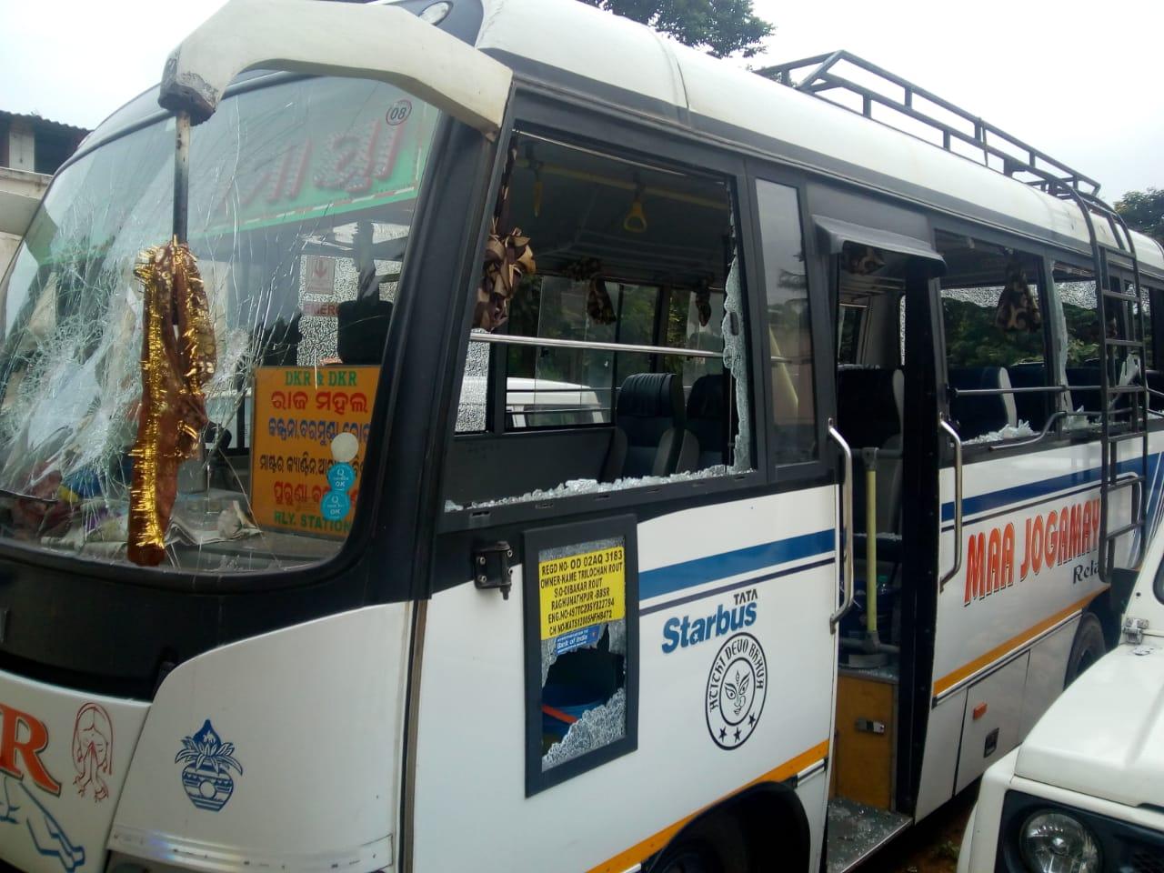 bhubaneswar bus accident