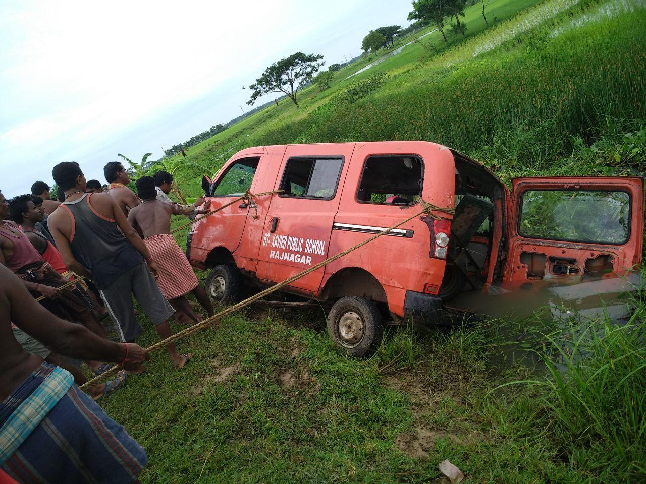 school van accident