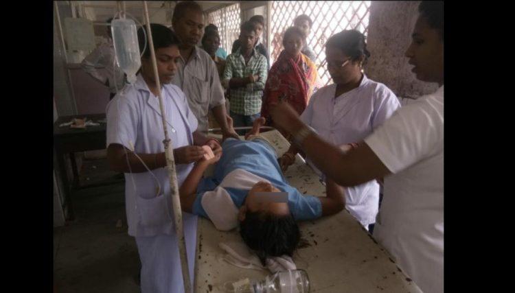 students injured