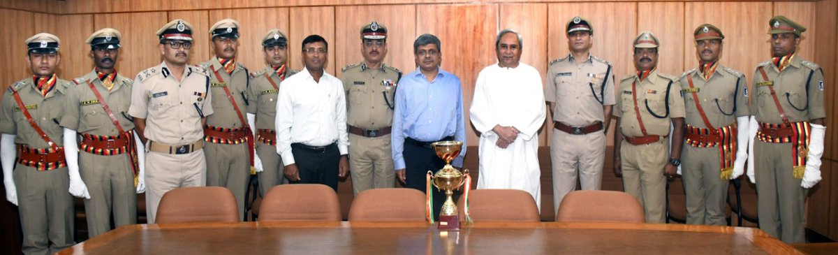 winning contingent parade odisha