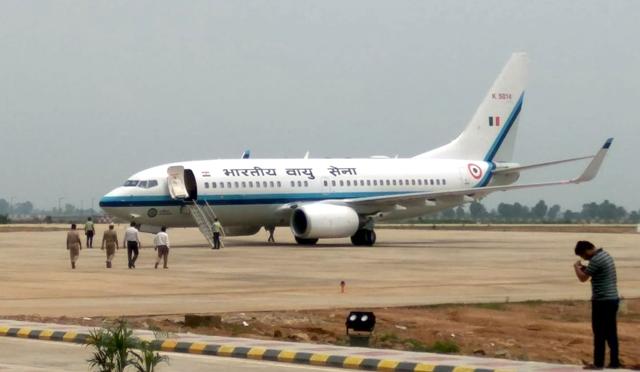 IAF-Boeing flight