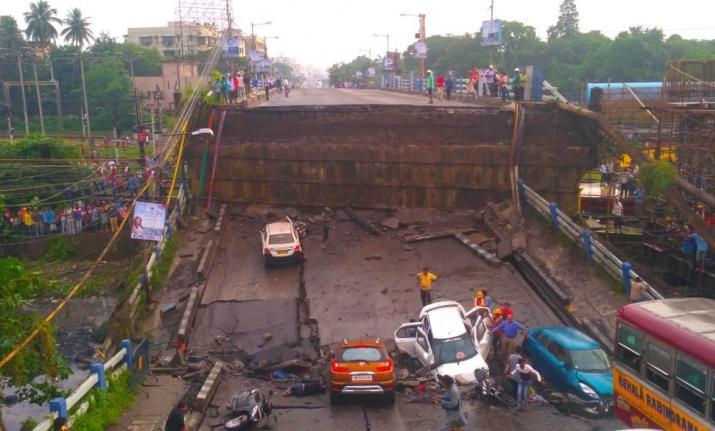 Kolkata bridge collapse