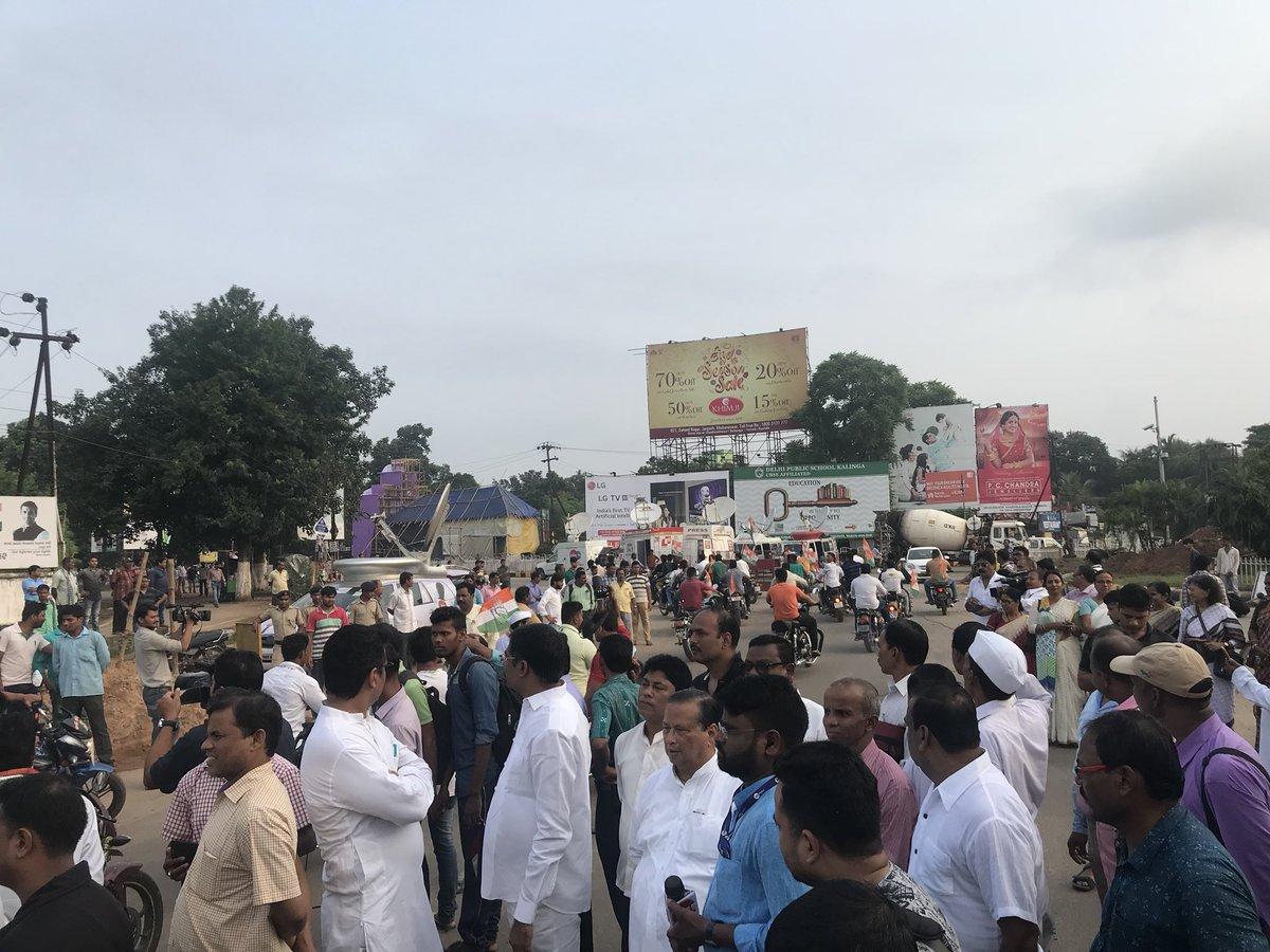 congress bandh odisha