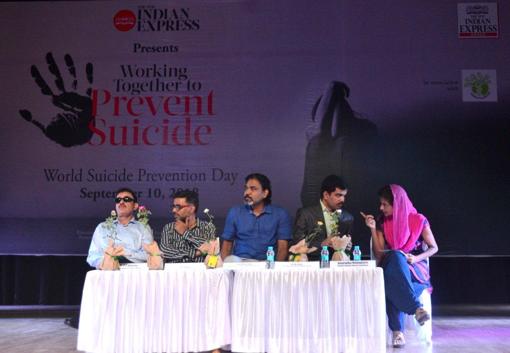 suicide prevention indian express