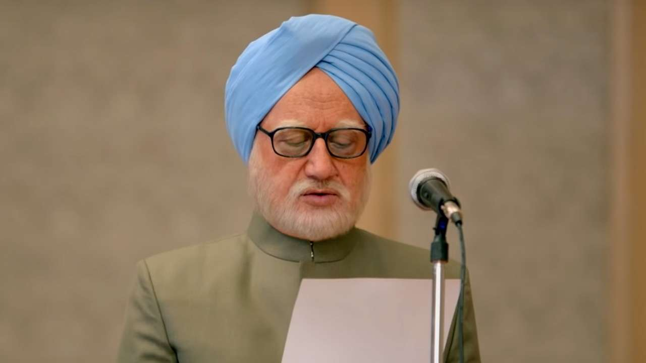 The Accidental Prime Minister trailer: Anupam Kher accurately recreates Manmohan Singh's mannerisms