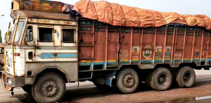 body in truck