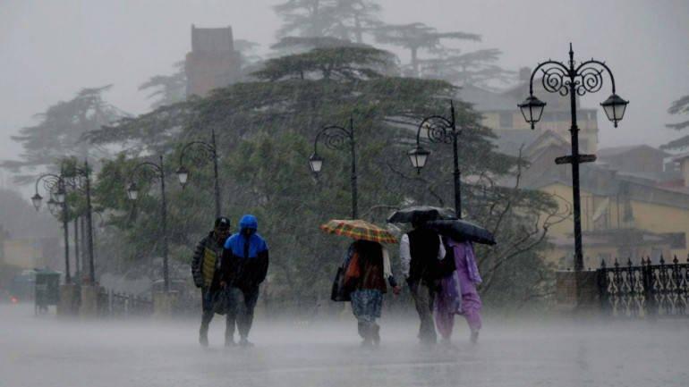 rainfall thunder