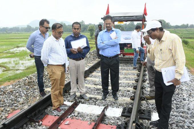 Khordha-Bolangir line