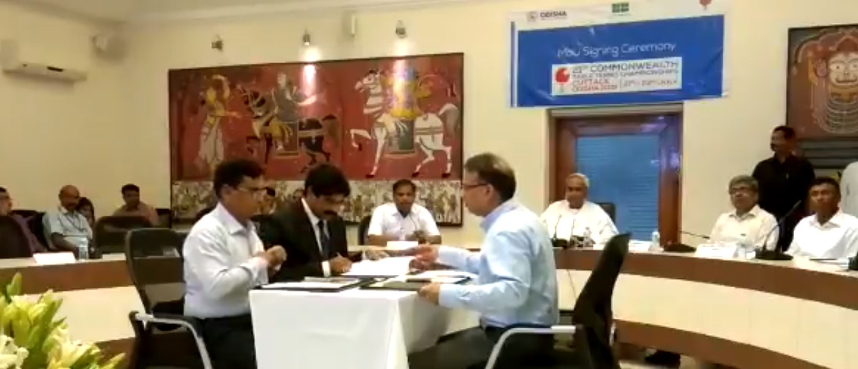 MoU signed for Table Tennis Championship