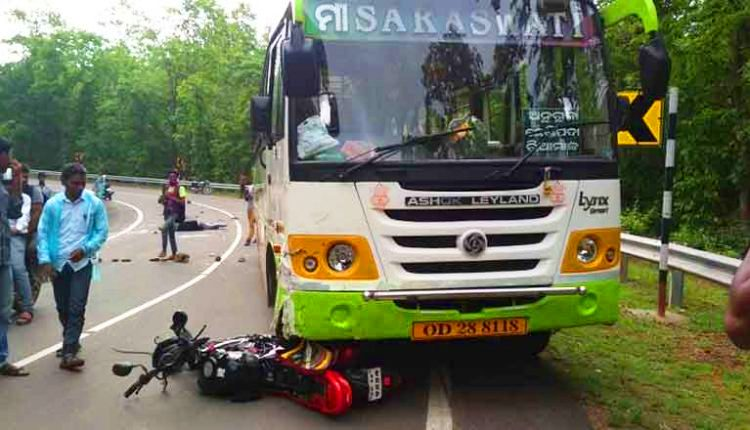 Road mishap Deogarh