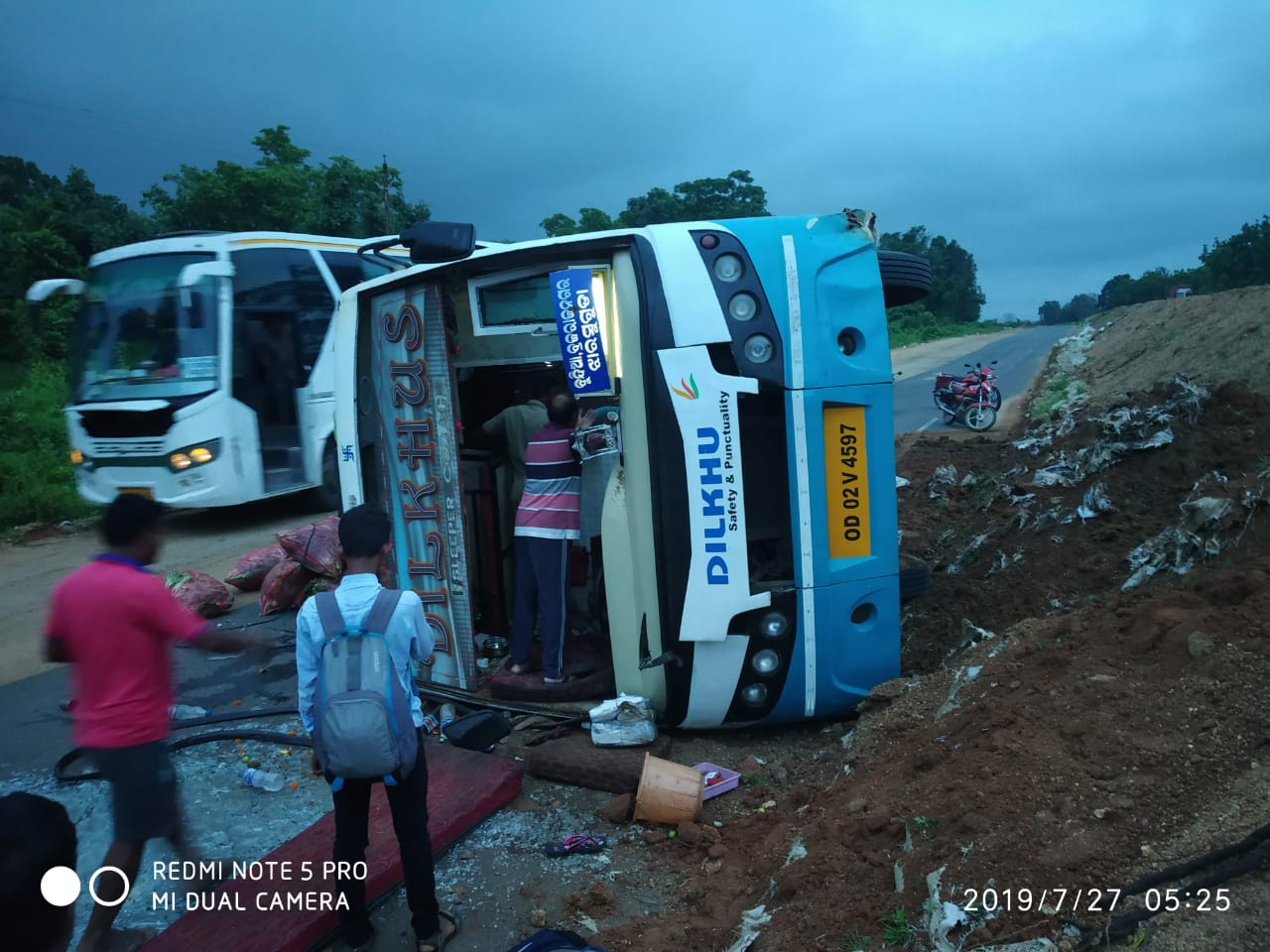 accident sambalpur