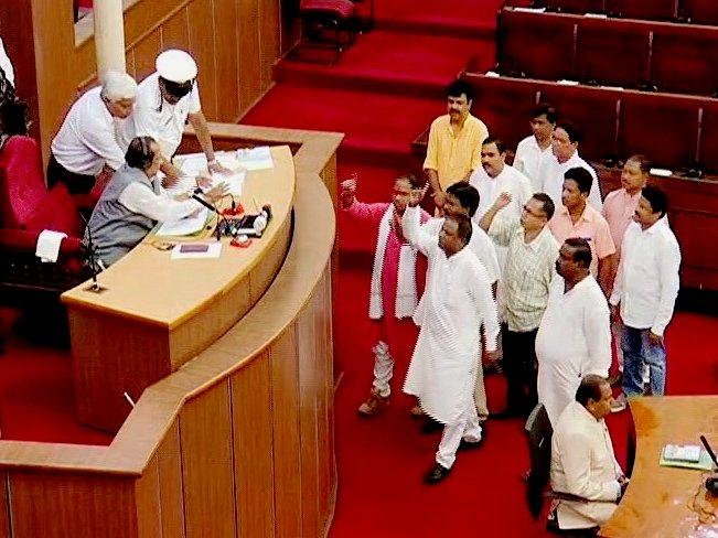 assembly uproar
