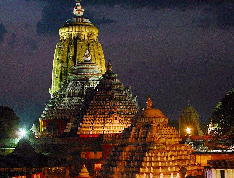jagannath temple night